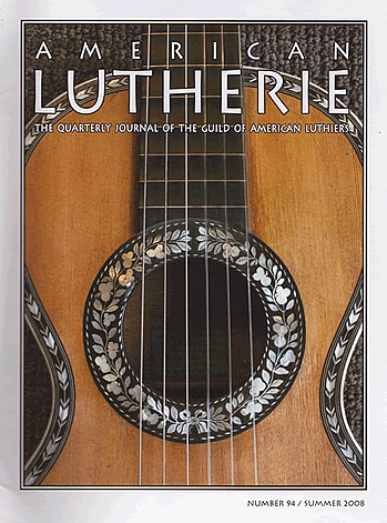 American Lutherie Article